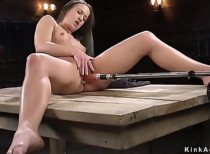 Hot ass night-time fucking machine