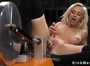Peaches beauty give nylons masturbates